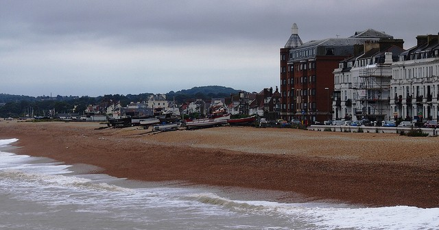 Deal, a pleasant Kent seaside resort on the face of it, but dig deeper…