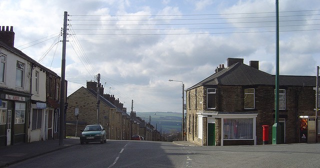 Consett, typical example of a failed regeneration area