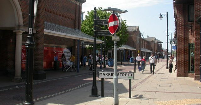 Eastleigh, an armpit of a town