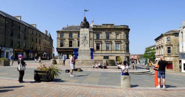 """Paisley – what can one say with regard to this """"charming"""" town"""
