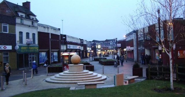 Erdington, the u-bend in the toilet of North Birmingham