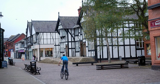 Northwich nestles snugly in what is usually regarded as posh and leafy Cheshire