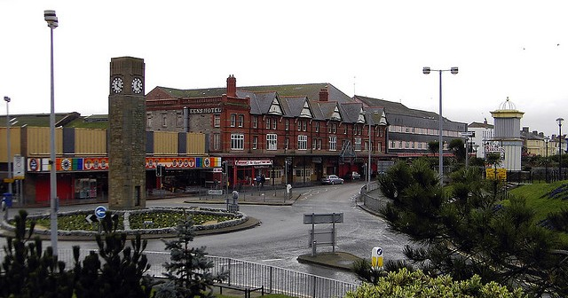 Rhyl: all come wide eyed at the prospect of getting a DSS bedsit on the prom