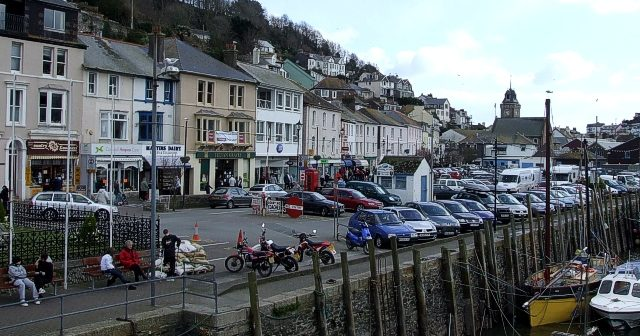Looe and the whole of frigging Cornwall is a chavvy hole