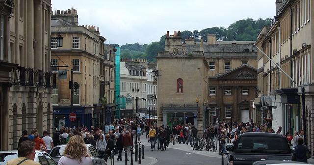 Bath, Somerset – needs a good clean!