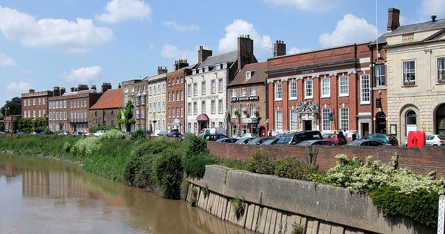 Wisbech, I came pretty close to sliding into depression