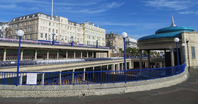 Eastbourne where the elderly flock in their thousands to die