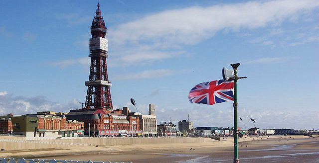 Blackpool: The less than salubrious Seaside