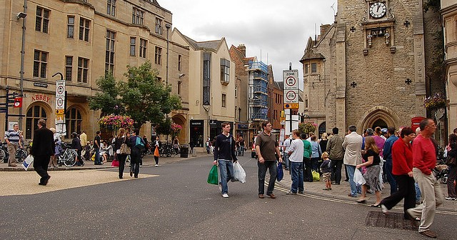 Oxford, where posh people impose segregation on everyone else