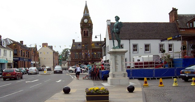 Annan, an unknown but disgusting town.