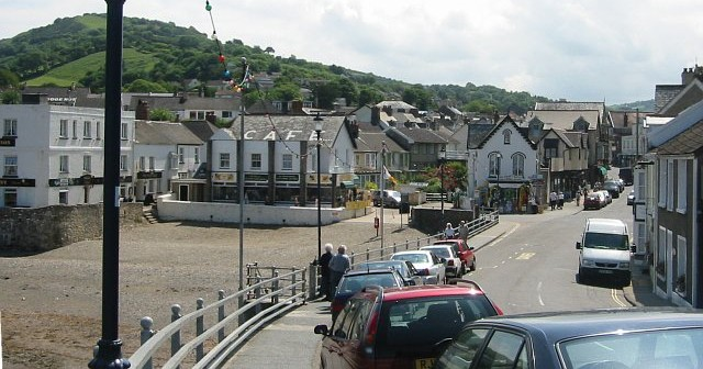 Combe Martin is definitely not interesting, lively or quaint in any way