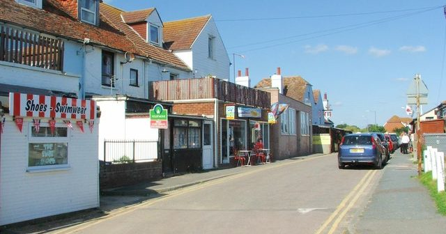 Dymchurch, a geriatric landfill on the south-east coast of Kent