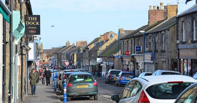 Amble: the population of 6,022 is now almost entirely related
