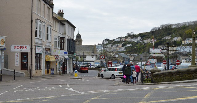 Looe: Tourists are the only thing going for this town