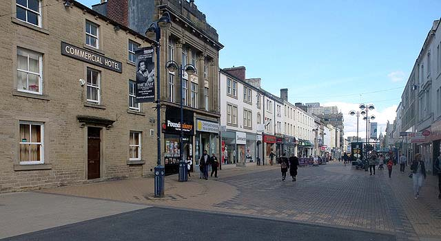 Top 10 worst places to live in England, Huddersfield
