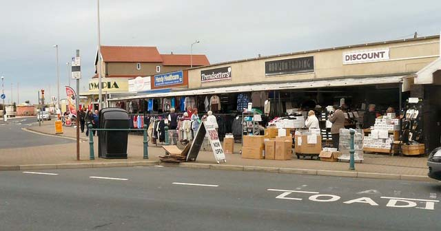 Cleveleys: the morgue of Blackpool
