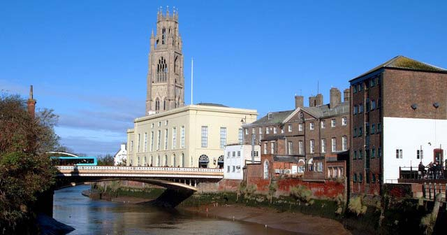 Living in Boston, Lincolnshire