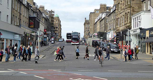 Living in Edinburgh, Lothian, Scotland